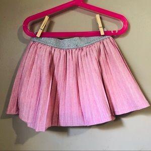Disney Pink Princess Size 5 Girls Ruffle Skirt